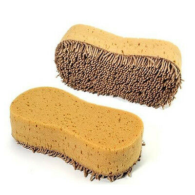 1X Microfiber Chenille Car Auto Wash Clean Tool Sponge Cleaning Brush Pad Tool