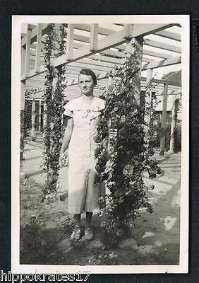 FOTO vintage PHOTO, Frau Dame Mode fashion woman femme /90 snapshot
