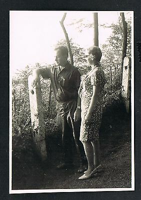 FOTO vintage PHOTO, Mann Frau Herr Dame woman man lord lady homme femme /105b