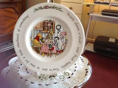Royal Doulton Winnie The Pooh Plate