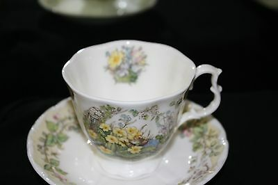 Royal Doulton Brambly Hedge Tea Cup and Saucer....Spring