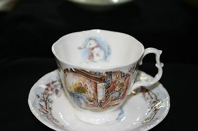 Royal Doulton Brambly Hedge Tea Cup and Saucer....Winter