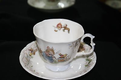 Royal Doulton Brambly Hedge Tea Cup and Saucer....The Birthday