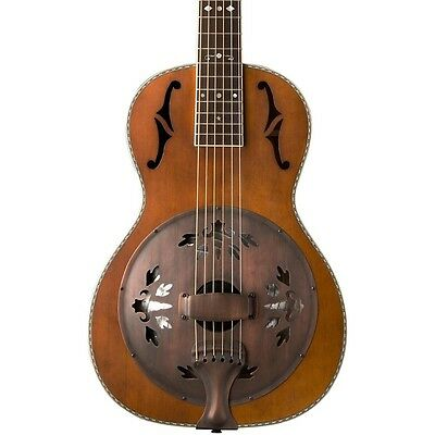 Washburn R360K Parlor Resonator Guitar with 1930's Style Inlay Vintage LN