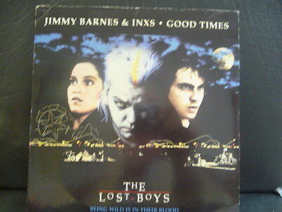 """Jimmy Barnes And Inxs """" Good Times """" """" Ex+ Cond.in Pic Sl."""