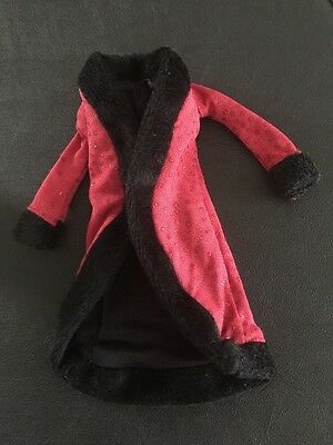 Barbie My Scene Doll Clothes Madison Goes Hollywood Red & Black Jacket