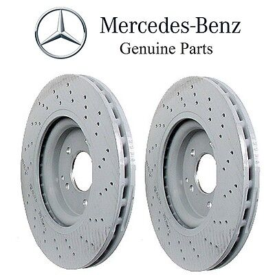 One New Meyle Disc Brake Rotor Front 34331 2034211312 for Mercedes MB