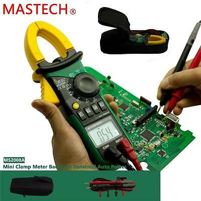 AC/DC Digital Multimeter Electric Tester Current Clamp Meter Ammeter MS2008A X5