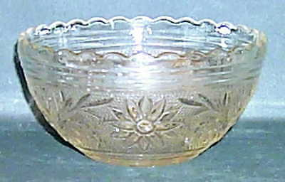 Anchor Hocking SANDWICH CLEAR Scalloped Bowl 3700967
