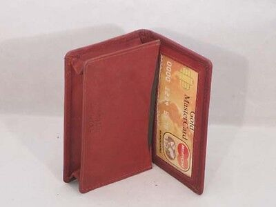 Credit Card Id Business Card Money Holder Expandable Pocket Brown Gift Idea