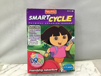 New Fisher Price Smart Cycle Dora the Explorer 3-5 age K-6689