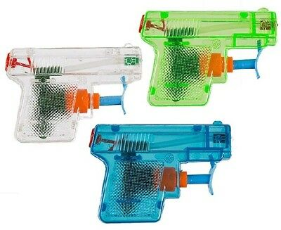 2 Pack Water Pistols Bright Neon Coloured Water Pistol 3 Colours To Chose From
