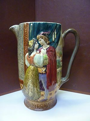 Super Large Vintage Beswick Romeo And Juliet Jug