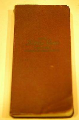 1935 Little Gem Life Chart National Underwriter Co Western & Eastern Combined