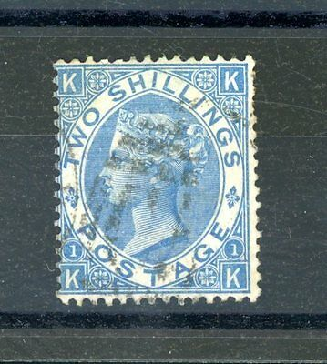 Great Britain Victoria   2s Blue  (SG 118)   fine-used  (Jy033)