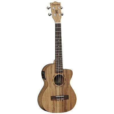 Last One Tenor Electro Acoustic Ukulele,gig Bag In Built Tuner. Rrp Over £200