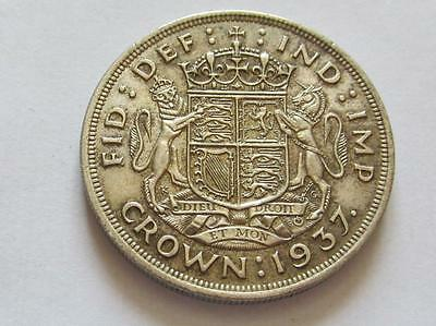 George VI Coronation Crown 1937 - Good collectable coin