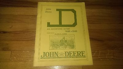 John Deere An Advertising History 1889-1940 Book by Alan C King JD Tractor
