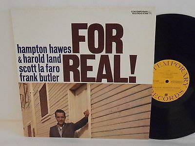 50s 70s Jazz HAMPTON HAWES for real! U.S. Vinyl LP N Mint