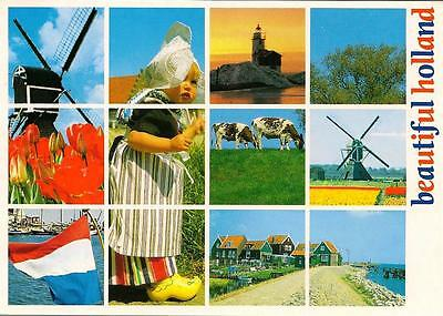Holland - View - Unposted Postcard