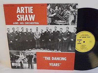Archive Jazz ARTIE SHAW the dancing years U.S. Vinyl LP Mint