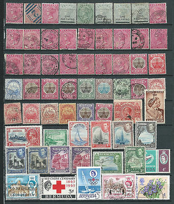 Bermuda Collection from 1865 to 1970 on a stock page