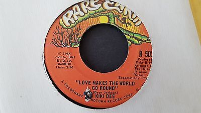 Kiki Dee - Love Makes The World Go Round / Jimmy. 1966 Usa Rare Earth 45