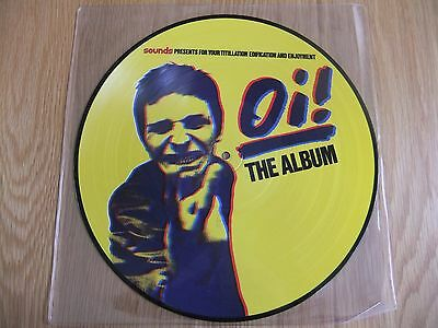 Oi!, The Album, Vinyl Picture Disc LP, EX.