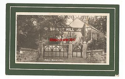 Wales Mold Bailey Hill 1912 Vintage Postcard