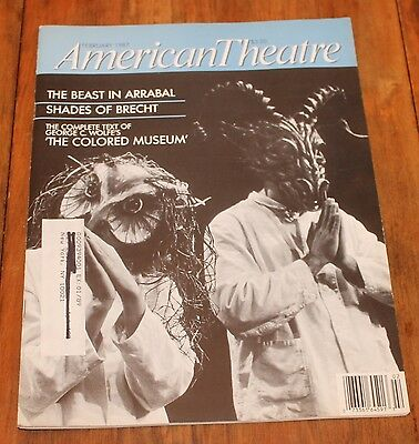 """""""The Colored Museum""""Complete Text George C. Wolfe American Theatre Feb. 1987"""