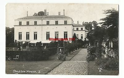 Glos Stratton House nr Cirencester Real Photo Vintage Postcard