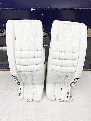 CCM Extreme Flex II Goal pads 35+2 White NHL FREE SHIPPING