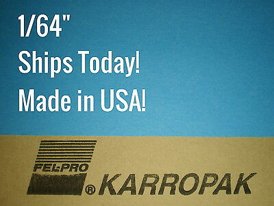"""USA MADE! 1/64 x3.5"""" x6"""" Gasket Material gas coolant oil antifreeze paper Sheet"""