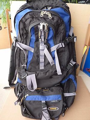 Asolo Voyageur 80L large travel backpack - many features - very nice condition!