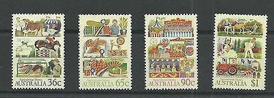 AUSTRALIA 1987  Agricultural Shows   unmounted mint  /  mnh set