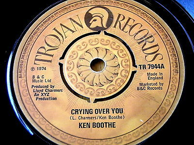 "Ken Boothe - Crying Over You  7"" Vinyl"