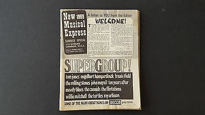 NME- New Musical Express Summer Special Magazine 1969 - Beatles, Stones etc.