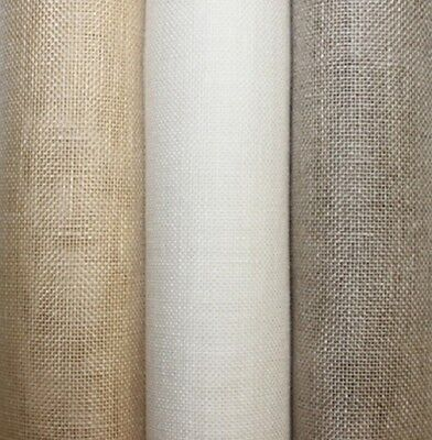 "1yd 26ct White Flax Linen Cross Stitch Charles Craft 27""x36"" NEW"