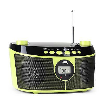[Occasion] Boombox Lecteur Cd Portable Compact Poste Radio Tuner Am Fm Bluetooth