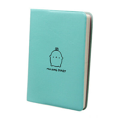 Molang Diary Weekly Planner Agenda Notepad Notebook Cute Rabbit Kawaii BU   L2
