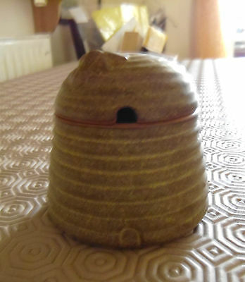 Charmouth pottery round bee hive