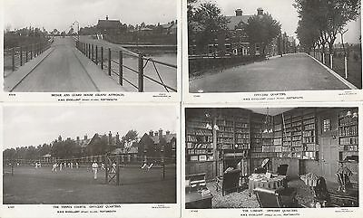 Portsmouth Whale Island Hms Excellent Royal Navy 10 Postcards Rp