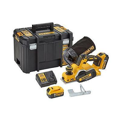 Dewalt Dcp580P2 18 Volt Xr Brushless Planer 5.0Ah Batts In Case (Reconditioned)