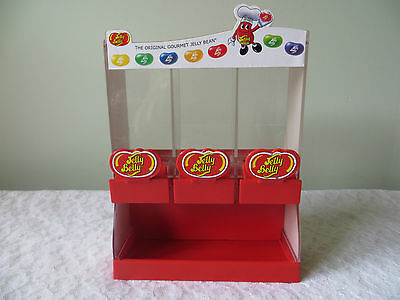 Jelly Belly 2007  Jelly Bean 3 Compartment Dispenser