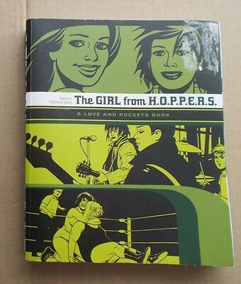 Graphic novel; The GIRL from H.O.P.P.E.R.S. by Jaime Hernandez, Love and Rockets