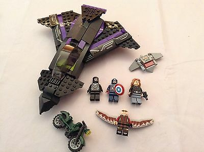 Bundle Of Lego Marvel & DC Heroes & Villains Figures Minifigures