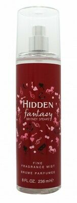 Britney Spears Hidden Fantasy Frangrance Mist - Women's For Her. New