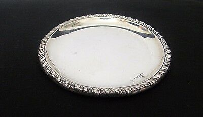 Victorian English Sterling Silver James Deakin & Sons Change coin dish 1901