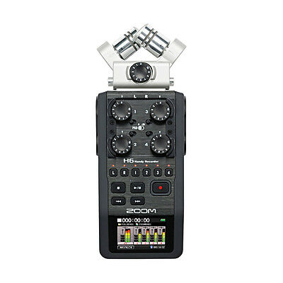 Zoom H6 6 Track Portable Recorder (NEW)