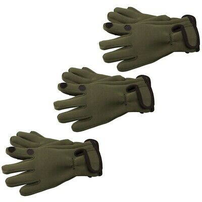 Mens Neoprene Fishing Gloves (Lightweight Waterproof)